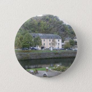 Esch sur Sûre, Luxembourg 6 Cm Round Badge