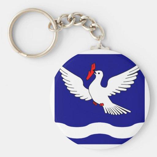 Eschen Armorial Banner Keychain