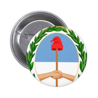 Escudo de Argentina - Coat of arms of Argentina 6 Cm Round Badge