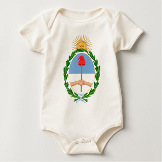 Escudo de Argentina - Coat of arms of Argentina Baby Bodysuit