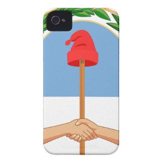 Escudo de Argentina - Coat of arms of Argentina Case-Mate iPhone 4 Case