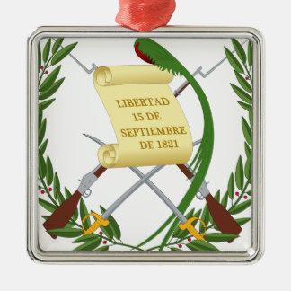 Escudo de armas de Guatemala - Coat of arms Metal Ornament