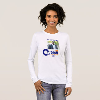 Ese O'Diah for NYC Mayor 2017 Long Sleeve T-Shirt