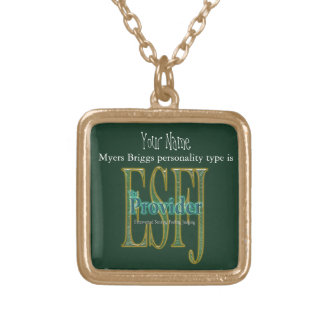 ESFJ theProvider Gold Plated Necklace