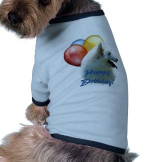 Eskie Happy Birthday Balloon Dog Shirt