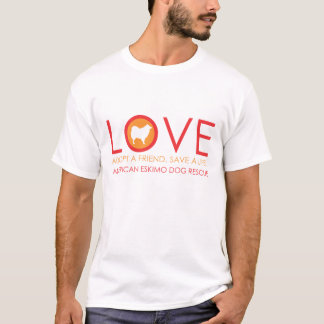 Eskie Love Shirt White