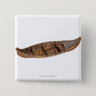 Eskimo Canoe 15 Cm Square Badge