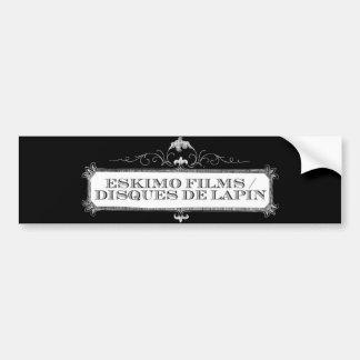 Eskimo Films/Disques de Lapin Dual Logo sticker Bumper Sticker