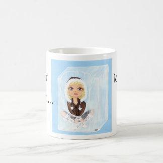 Eskimo in Ice Quantum Cutie Ice, Melts Basic White Mug