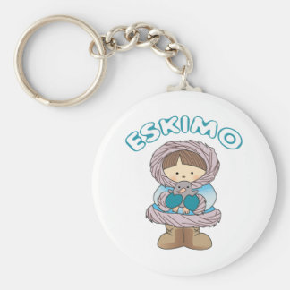 Eskimo Key Ring