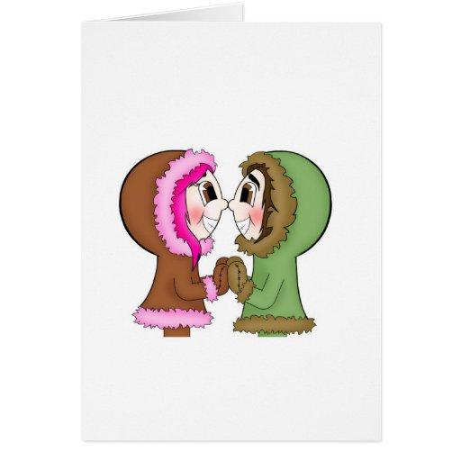 eskimo kisses cards