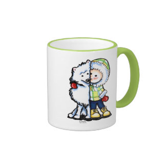Eskimo Kisses Winter Coffee Mugs