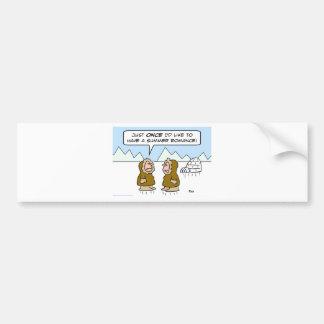 eskimo summer romance bumper stickers