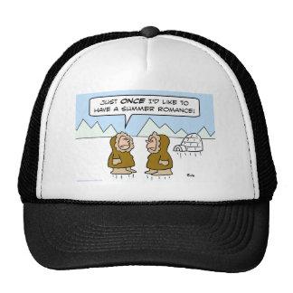 eskimo summer romance mesh hat