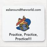 ESL Around the World Mouse Pad