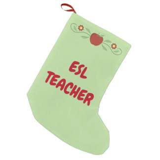 ESL Teacher Christmas Stocking