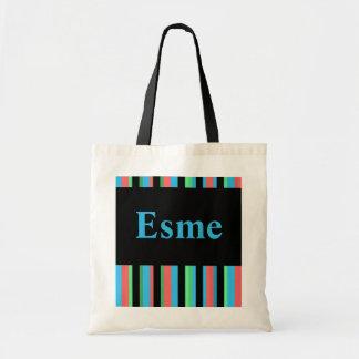 Esme Pretty Striped Tote Bag