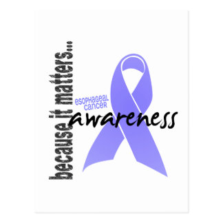 Esophageal Cancer Awareness Post Cards