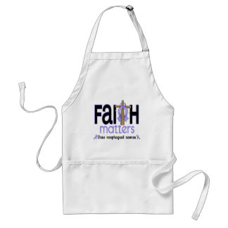 Esophageal Cancer Faith Matters Cross 1 Standard Apron