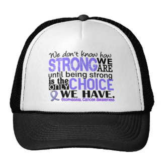 Esophageal Cancer How Strong We Are Cap