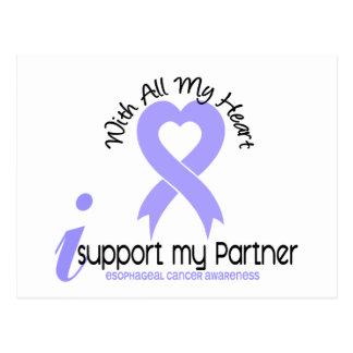 Esophageal Cancer I Support My Partner Postcard