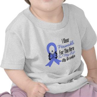 Esophageal Cancer Ribbon Hero My Grandpa Shirt