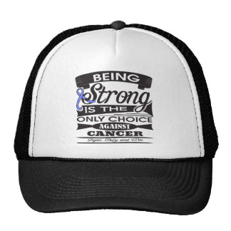 Esophageal Cancer Strong is The Only Choice Hats