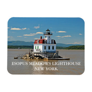 Esopus Meadows Lighthouse, New York Photo Magnet