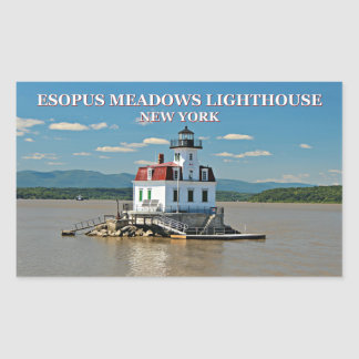 Esopus Meadows Lighthouse, New York Stickers