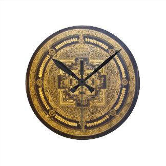 ESOTERIC MANDALA WALL CLOCK DESIGN