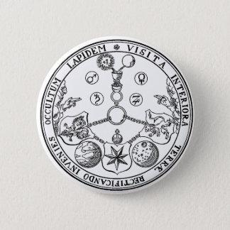 Esoteric VITRIOL Pics Badge Alchemy Alchemist