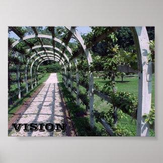 Espalier Apple Tree - Vision Poster