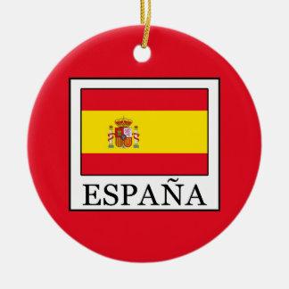 España Ceramic Ornament