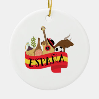 Espana Ceramic Ornament