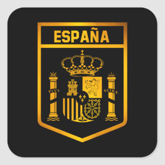 España Emblem Square Sticker