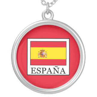España Silver Plated Necklace