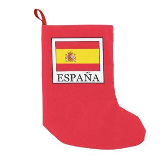 España Small Christmas Stocking