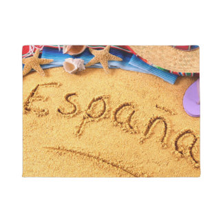España Spain Beach doormat