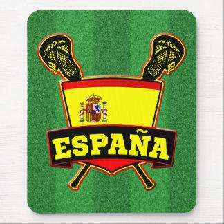 España Spain Lacrosse Mouse Pad