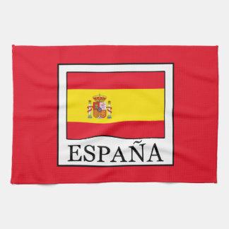 España Tea Towel