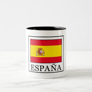 España Two-Tone Coffee Mug