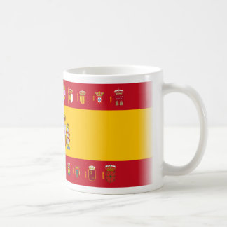 España y sus comunidades coffee mug