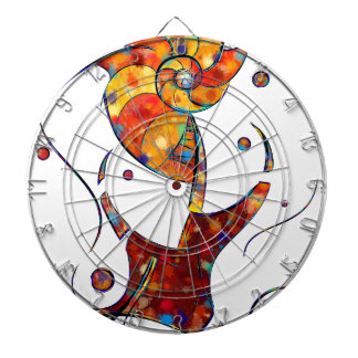 Espanessua - imaginery spiral flower dartboard