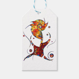 Espanessua - imaginery spiral flower gift tags