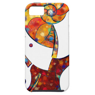 Espanessua - imaginery spiral flower tough iPhone 5 case