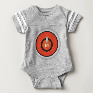 Esperanissa - switch off baby bodysuit