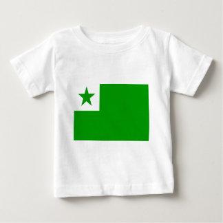 esperanto-Flag Baby T-Shirt