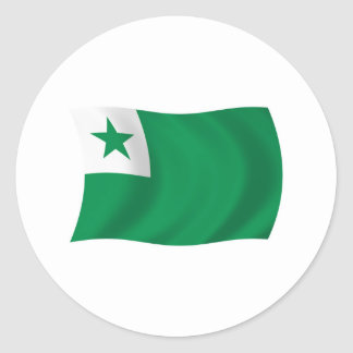 Esperanto Flag Sticker