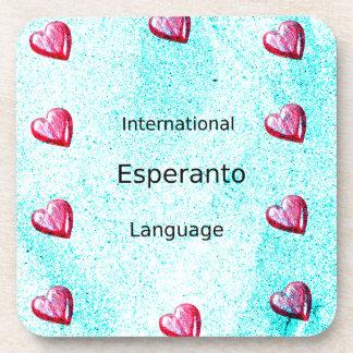 Esperanto International Language Design Coaster