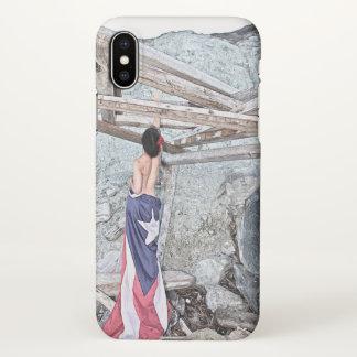 Esperanza - full image iPhone x case